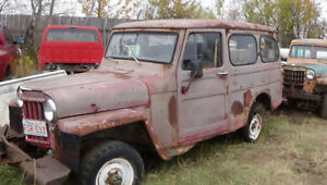 Willys Adventure Wagons...rare finds