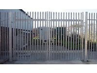 Security gates. Fencing