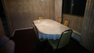 6 Chair Beautiful Dining Table
