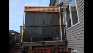 Patio Shade / Privacy Blind