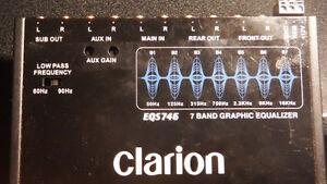 Clarion EQS746 7 Band EQ