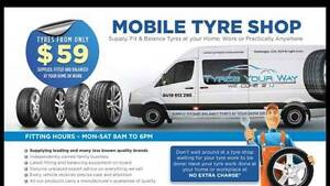 BOAT TRAILER, TRAILER TYRES REPLACED AT YOUR HOME Perth Perth City Area Preview