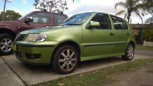 2001 Volkswagen Polo Hatchback Wyee Point Lake Macquarie Area Preview