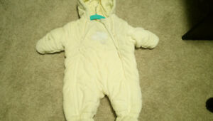 Baby winter suit/ 3months/ excellent used condition