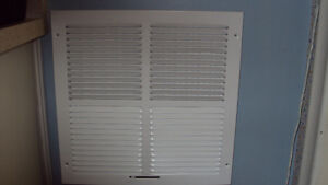 TRUaire 102M Series Stamped 2 Way Sidewall and Ceiling Registers Cambridge Kitchener Area image 1