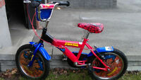 "16"" Bike - Spiderman Special Edition Bicycle - Spider Man"