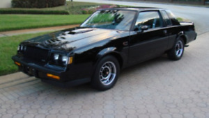 Wanted  1987 Buick grand national parts
