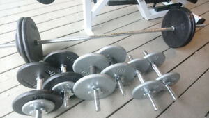 Dumbbells And Bar