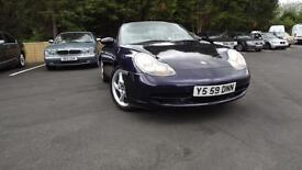 Porsche 911 convertible 3.4 Tiptronic auto, 2001, Carrera 4x4 Glasgow Scotland