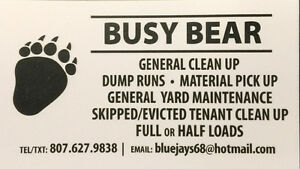 Skipped / evicted tenant clear outs. , general cleanup