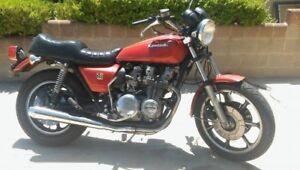 1978 KZ650SR