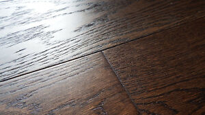 "Click or Nail 5"" Wire Brushed Hardwood, Incredible Value"