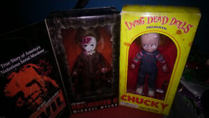 Living dead dolls, Michael myers and chucky