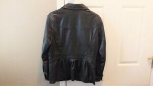 Soft Black leather Jacket from Danier Strathcona County Edmonton Area image 2