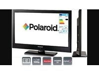 "22"" Polaroid LED FULL HD 1080P TV BULIT IN DVD PLAYER AND FREEVIEW"