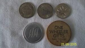 Jetons ponts Champlain et Cartier, 25 cents américain par état