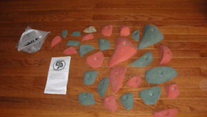 Climbing Holds for climbing wall (new, unused)