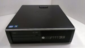 HP 8200 Elite SFF Intel i5 Quad Core Desktop