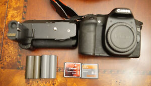 Canon 50d, 2 batteries, with battery grip, and 32gb CF card