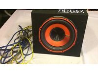 EDGE Subwoofer With a Built In Amp