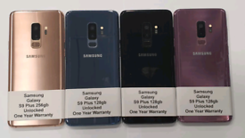 Like New Used Samsung Galaxy S9 Plus 128gb-256gb Unlocked Open To All