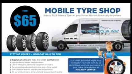 "13"" tyres with Mobile Tyre Fitting and Balance - We Come To You!"