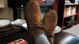 An eco-friendly Desert boot, handmade in Italy Size 42
