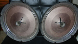 Vintage Ceramic Guitar Amp Speakers