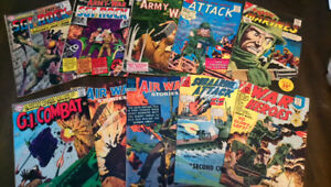 Comic Books: 1960's War comics $175 for over 70 issues