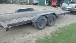 16 Foot HD Trailer with ramps