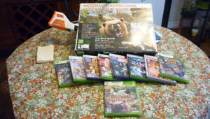 8 Xbox 360 Games $40.00