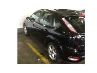 An immaculate Ford Focus 1.6 Turbo Diesel (very economical - 60 mpg).