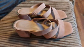 Wide fit size 6 heeled mules next