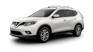2014 Nissan Rogue SL. LEATHER, AWD ,NAV.