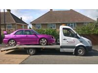 Reliable Nationwide Car Bike Breakdown Recovery Tow Truck Service Auction Transport Jump Start