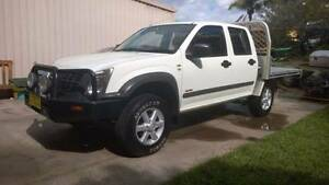 2007 Holden Rodeo Crewcab 4X4 TrayBack Ute Wyee Point Lake Macquarie Area Preview