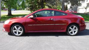 Pontiac G6 GT 2008. 1 propriétaire. Prix $7 500.00