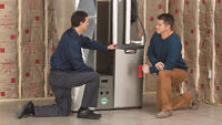 Furnace and heating repair (same day) $89.95