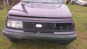 Pièces Chevrolet Tracker 1995 (Suzuki Sidekick)