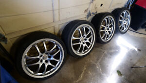 Infiniti G35 Forged Rays Wheels & Tires