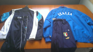 2 track suits, brand new and like new