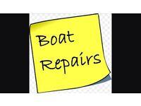 Mobile boat builder/laminator
