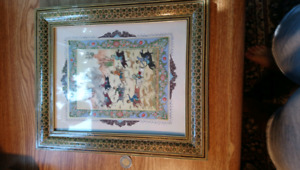 Authentic Iranian art and frame