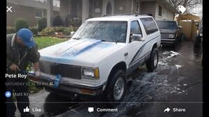 1989 s10 blazer 4x4 350 conversion! (Etested)