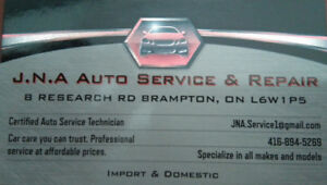 BE WINTER READY WITH JNA AUTO SERVICE & REPAIR