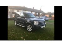 2006 57 LANDROVER DISCOVERY 3 2.7 TDV6 DIESEL AUTO 7 SEATER 4x4