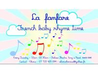 New in Chelsea, French baby rhyme time