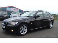 2010 10 BMW 320d 6 SP MANUAL ES TOURING BLACK