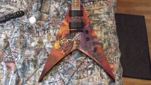 Dean WMNT Peace sells graffic  Dave Mustaine signature