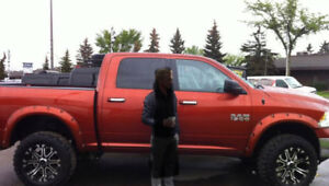 2013 Dodge Ram 1500 4 x 4 with 6 inch lift